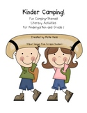 Kinder Campers: Camping Themed Emergent Reader and Book List