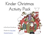 Kinder Christmas Activity Pack