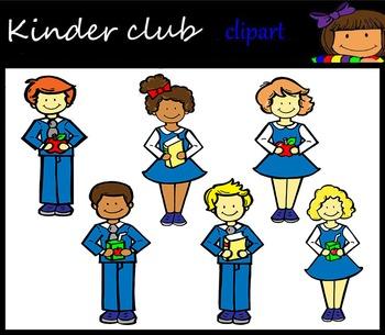 Kinder Club Cipart Minis