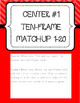 Kinder Common Core Envision Math® Centers -Topic 10 Compos