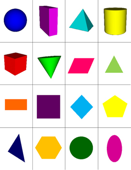 Kinder Common Core Envision Math® Centers - Topic 12 ID & Describe Shapes
