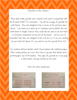 Kinder CommonCore EnVision Math® Journals,Topic 13 Analyze,Compare,&CreateShapes