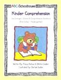 Kinder Comprehension-(PK-K)
