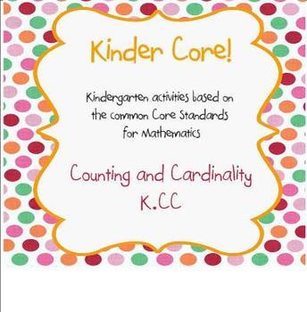 Kinder Core-SMARTBoard Activities for Kindergarten Common Core Math (K.CC)