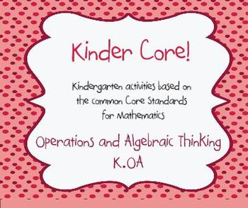 Kinder Core-SMARTBoard Activities for Kindergarten Common Core Math (K.OA)