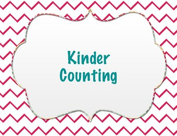 Kinder Counting Pack