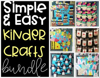 Kinder Craft- Simple & Easy Bundle