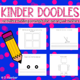 Kinder Doodles: Creative Drawing and Writing Prompts for E