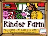Kinder Farm: Farm Fun For the Kindergarten Classroom!