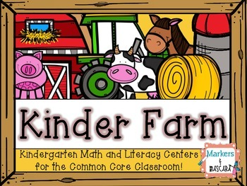 Kinder Farm: Farm Fun For the Kindergarten Classroom!