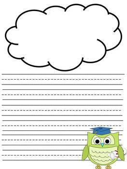 Kinder Graduation Writing Paper