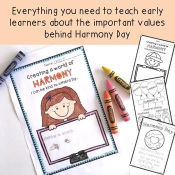 Kinder Harmony Day Pack - Foundation / Kindergarten / Prep