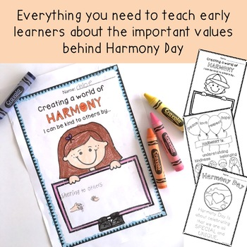 Harmony Day Activities - Foundation / Kindergarten / Prep