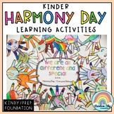 Harmony Day & Harmony Week Activities - Foundation / Kinde