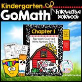 GoMath-Kinder Interactive Notebook Chapter 1-Rep., Count and Write Numbers 0-5