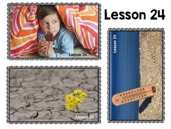 JOURNEYS : Kinder Oral Language Unit 5: Lessons 21-25