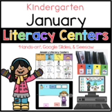 Kinder January Literacy Centers