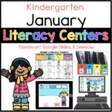 Kinder January Literacy Centers