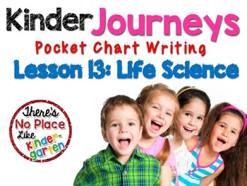Kinder Journeys Lesson 13: Pocket Chart Writing Activities