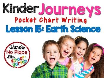 Journeys: Kindergarten Lesson 15: Pocket Chart Writing Activities
