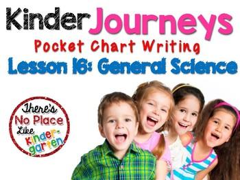 Journeys: Kindergarten Lesson 16: Pocket Chart Writing Activities