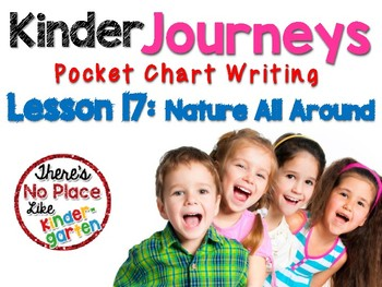 Kinder Journeys Lesson 17: Pocket Chart Writing Activities
