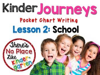 Journeys: Kindergarten Lesson 2: Pocket Chart Writing Activity