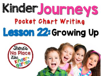 Kinder Journeys Lesson 22: Pocket Chart Writing Activities