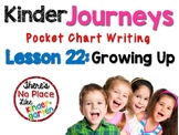 Journeys: Kindergarten Lesson 22: Pocket Chart Writing Activities