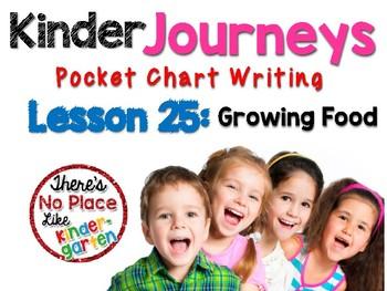 Journeys: Kinder Lesson 25: Pocket Chart Writing Activity