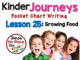 Journeys: Kinder Lesson 25: Pocket Chart Writing Activity