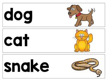 Journeys: Kindergarten Lesson 3: Pocket Chart Writing Activity