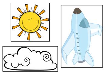Journeys: Kindergarten UNIT 3 BUNDLE Pocket Chart Writing