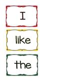 Kindergarten Journeys Vocabulary Context Cards High Freque