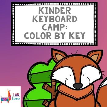 Kinder Keyboard Camp: Color by Key