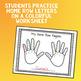 Kinder Keyboard Camp: Finger Fill In Worksheet
