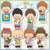 Kinder Kiddies Clip Art - Kindergarten Clip Art - School -