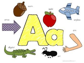 Kinder Kids - Letter Aa Bundle