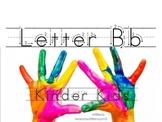 Kinder Kids - Letter Bb Bundle