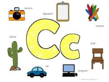 Kinder Kids - Letter Cc Bundle