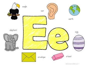 Kinder Kids - Letter Ee Bundle