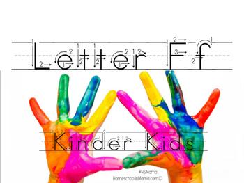 Kinder Kids - Letter Ff Bundle