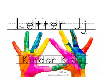 Kinder Kids - Letter Jj Bundle