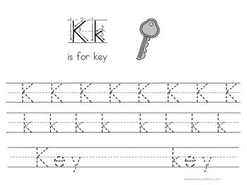 Kinder Kids - Letter Kk Bundle