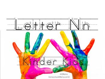 Kinder Kids - Letter Nn Bundle