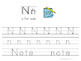 Kinder Kids - Letter Nn Bundle