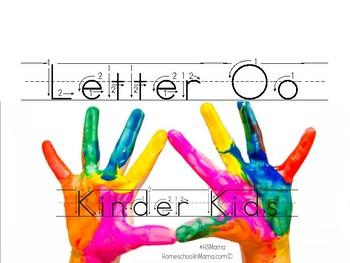 Kinder Kids - Letter Oo Bundle