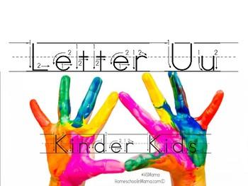 Kinder Kids - Letter Uu Bundle
