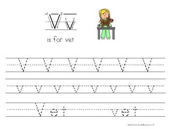 Kinder Kids - Letter Vv Bundle