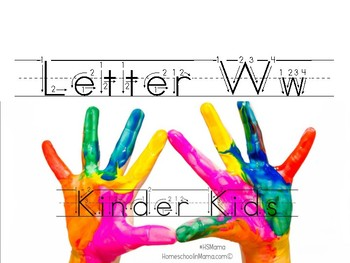 Kinder Kids - Letter Ww Bundle